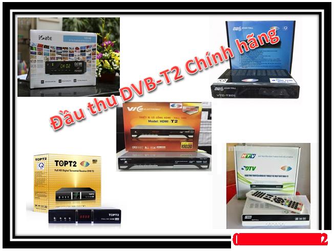 đầu thu DVB T2 CỦA SDTV