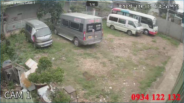 Hình ảnh camera dahua tại bãi xe